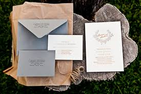 when should wedding invitations be sent andrew s orange and gray fall wedding invitations