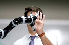 how to write an action research paper in education math using research to improve education under the every student canadian prime minister justin trudeau high fives a robotic arm as he takes part in a