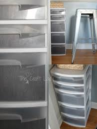 Under Desk Storage Drawers by Home Office In A Closet The Crazy Craft Lady