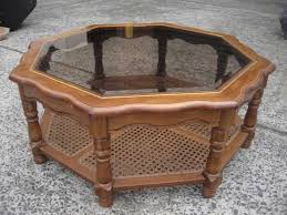 low glass top coffee table 21 best octagon coffee table images on pinterest coffee tables