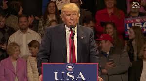 speech on thanksgiving watch highlights of donald trump u0027s first victory tour speech nbc