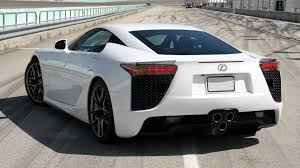 lexus lf a lease the lexus lfa for 12 400 per month 298 000 due at signing