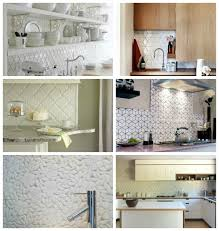 Kitchen Tiled Splashback Ideas White Splashback Ideas