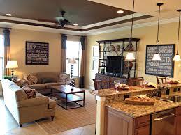 Interior Design Ideas Kitchen Pictures Kitchen Sleek Kitchen Family Room Design Idea Feat Dark Laminate
