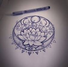 pretty lotus flower idea tats flower