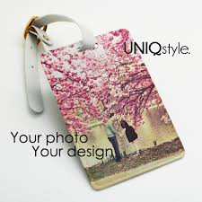 wedding luggage tags personalized luggage tag custom photo picture travel bag tag