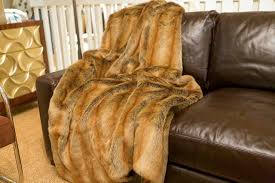 Faux Fur Blanket Queen Sofa Throws Bed Throws Decorative Throws Luxe Home Philadelphia