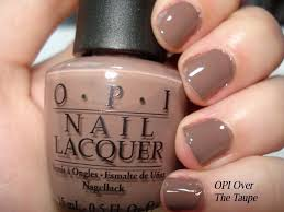 opi over the taupe nail polish so many cute browns for fall it