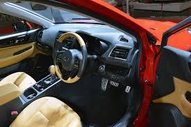 subaru legacy interior subaru warms up legacy b4 blitzen concept for tokyo auto salon w