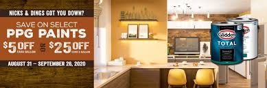 best paint for kitchen cabinets ppg ppg paints at mccoy s