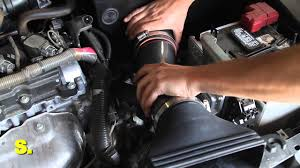 nissan altima coupe air suspension 2011 2012 u0026 2013 nissan altima 2 5l air intake installation youtube