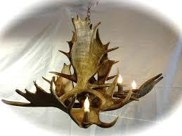 fake deer chandeliers deer antler chandelier diy faux antler chandelier