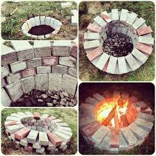 Simple Backyard Landscaping Ideas 12 Diy Fire Pits For Your Backyard Garden Hose Bricks And