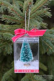 srm stickers clear container ornament by juliana
