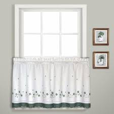 Green And White Gingham Curtains by Gingham Kitchen U0026 Tier Curtain United Curtain Curtainshop Com