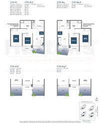 lake grande floor plan brochure unit mix singapore