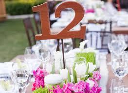 Table Numbers Wedding Wedding Reception Table Numbers Inside Weddings