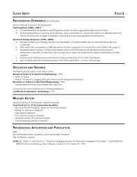 Entry Level Engineer Resume Resume Example Electrical Engineer Augustais