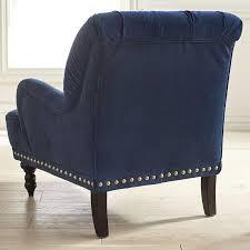 Velvet Armchair Sale Chas Navy Blue Velvet Armchair Pier 1 Imports