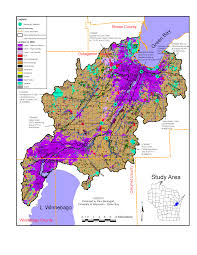 University Of Wisconsin Map by Map Of The Watershed Lower Fox River Watershed University Of