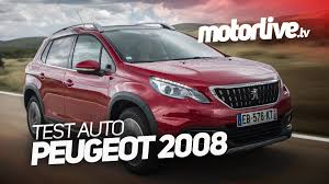 test auto nouvelle peugeot 2008 2016 youtube