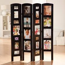 large room dividers memories double sided photo frame room divider rosewood 3 panel
