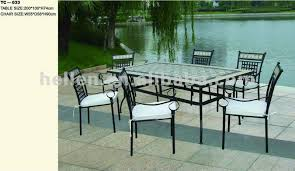 cement table and chairs wrought iron garden furniture tiles mosaic 100cm round tables and