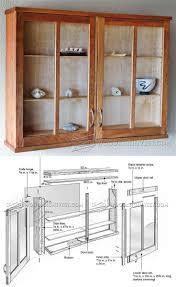 3 door display cabinet best 25 cabinet plans ideas on pinterest diy shoe rack rustic