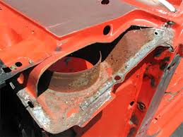 1965 mustang sheet metal virginia mustang mustang cowl area rust
