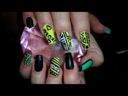 acrylic nails l crazy busy l nail design youtube get nailed