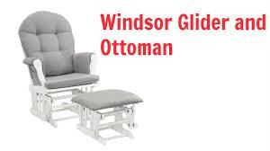 Best Nursery Glider Windsor Glider And Ottoman Review Best Nursery Glider Youtube