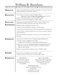 job resume sle for high students administrative career put resume resume together winning wow cheap