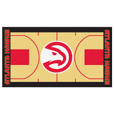 Home Depot Design Center Orlando Fanmats Nba Atlanta Hawks Tan 2 Ft 6 In X 4 Ft 6 In Indoor