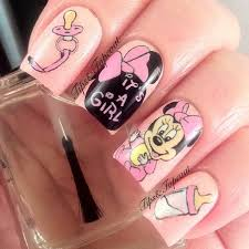 26 best baby shower nails images on pinterest baby shower nails