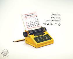 Diy Desk Calendar by Printed Papercraft 2017 2018 Diy Paper Desk Calendar Yellow