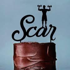weight lifting cake topper crossfit cake topper custom name trainer cake topper bodybuilder