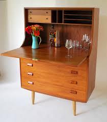 exquisite børge mogensen teak secretary desk or bar sold