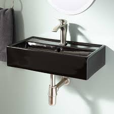 Small Corner Sinks Modern Wall Mount Sink With Small Sinks For Small Bathrooms