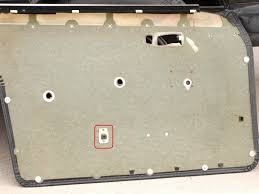 remove map pocket without removing door panel mercedes benz forum