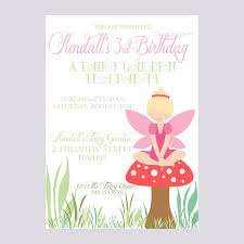 design sophisticated fairy birthday invitation templates with hd