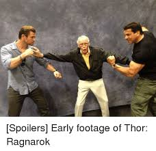 Funny Thor Memes - spoilers early footage of thor ragnarok funny meme on me me