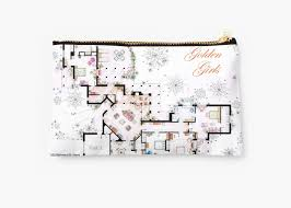 the golden girls house floorplan v 2
