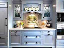 bathroom alluring kitchen grey island blue painted cabinets