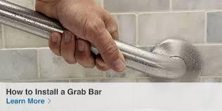 Bathroom Rails Grab Rails Shop Bathroom Safety At Lowes Com