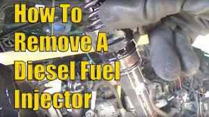 how to remove vw 2 0 tdi diesel fuel injectors the easy way