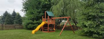Best Backyard Swing Sets by How To Choose The Best Wooden Swing Set Recreation Unlimited