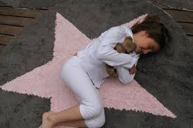 Pink Star Rug Pink Star Reversible Rug