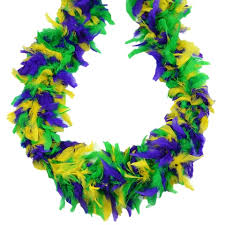 mardi gras boas feather boas party store