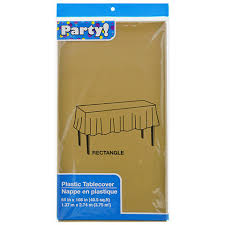 round picnic table covers for winter bulk dark gold plastic table covers 54x108 in at dollartree com