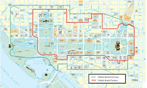 Dc Zoning Map Inauguration Brings Road Closures Parking Restrictions Wtop